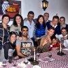 Cristiano Ronaldo avec son fils, sa famille et des amis pendant un diner a Madeire le 03 - 12