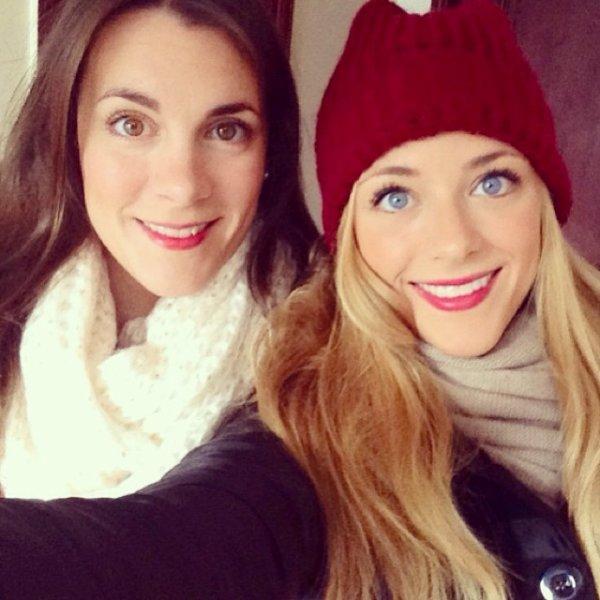 Laia Grassi et sa soeur le 14 - 12