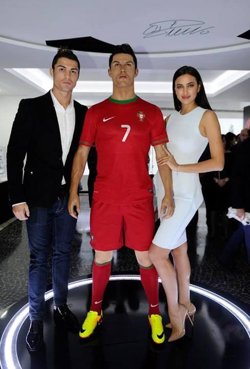 Irina Shayk et Cristiano Ronaldo le 15 - 12