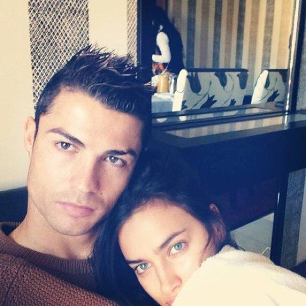 Cristiano et Irina so cute