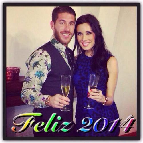 Sergio Ramos et Pilar Rubio le 31 - 12