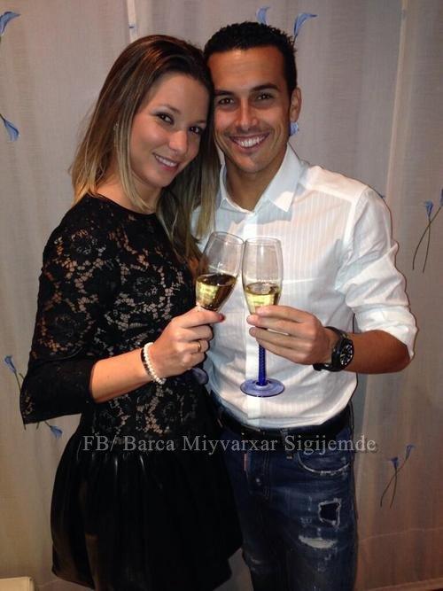 Pedro Rodriguez et Carol Martin le 31 - 12