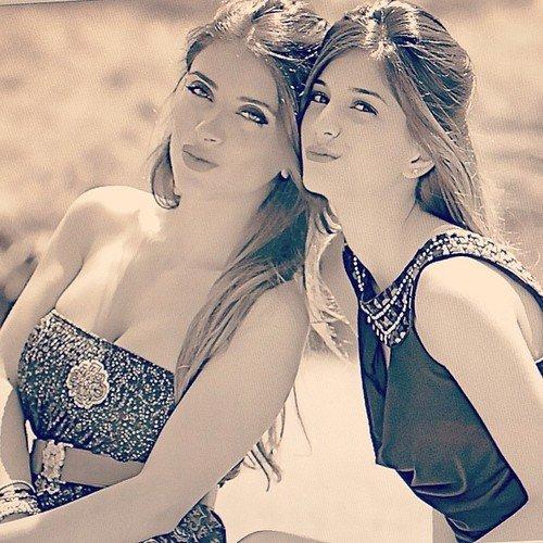 Daniella Semaan et sa cousine Angela