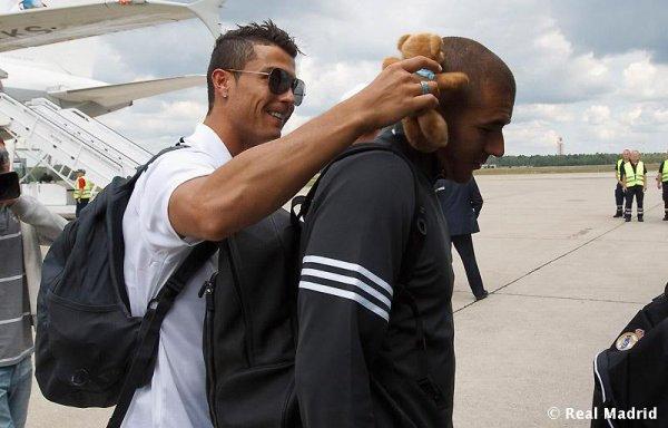 Karim Benzema et Cristiano Ronaldo (coup de ♥ )