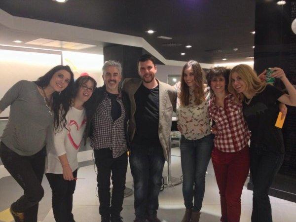 Pilar Rubio et des amis
