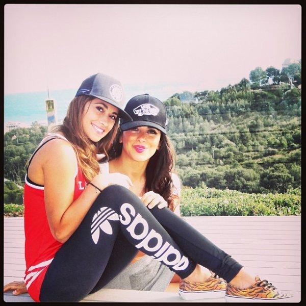 Daniella Semaan et Antonella Roccuzzo le 24 - 03