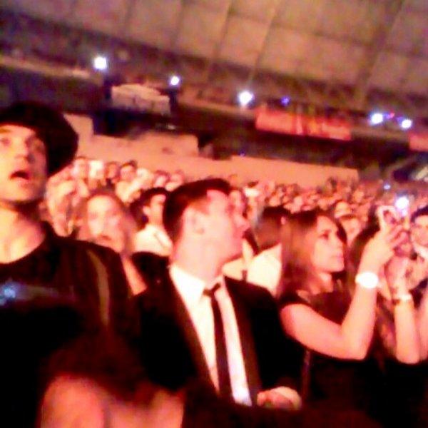Antonela Roccuzzo et Lionnel Messi au Consert de Beyonce le 24 - 03