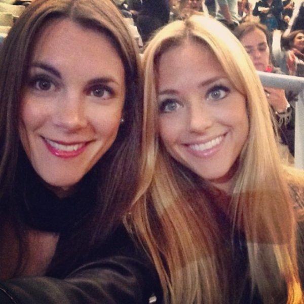 Laia Grassi et sa soeur au Concert de Beyoncé le 24 - 03
