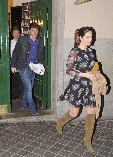 Sara Carbonero et Iker Casillas le 01 - 04