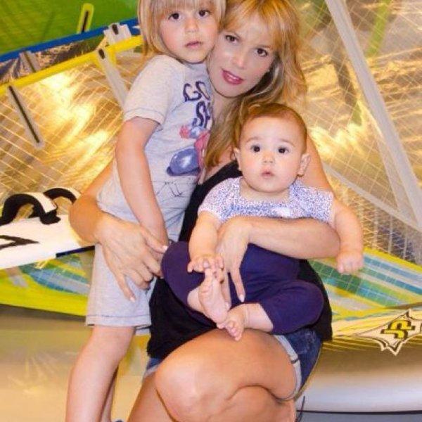Yolanda Cardona, Dylan et Vera Valdes le 03 - 05