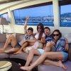 Daniella Semaan, Cesc Fabregas et leurs amis le 23 - 05 a Cannes