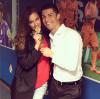 Irina Shayk, Cristiano Ronaldo, Hugo Aveiro a CL le 24 - 05