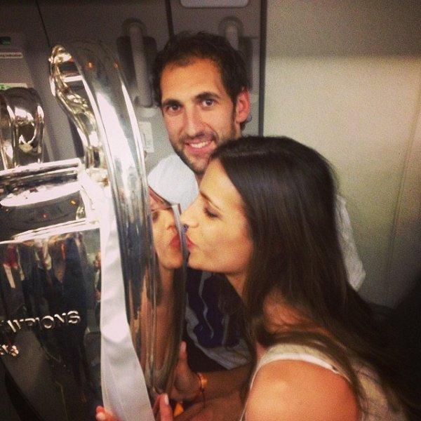 Iria Otero et Diego Lopez a CL le 24 - 05