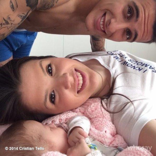 Lorena Lopez, Cristian et Carlota Tello le 27 - 05
