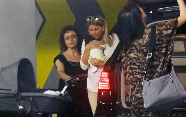 Pilar Rubio, Paqui Ramos et Sergio Junior le 04 - 06