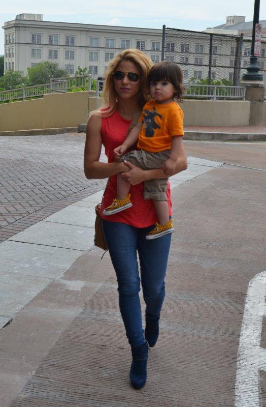 Shakira et Milan Piqué le 03 - 06