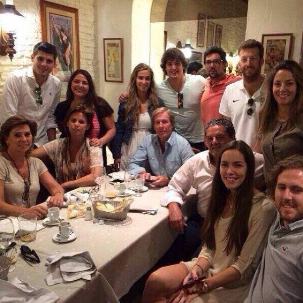Maria Pombo et Alvaro Morata le 09 - 06