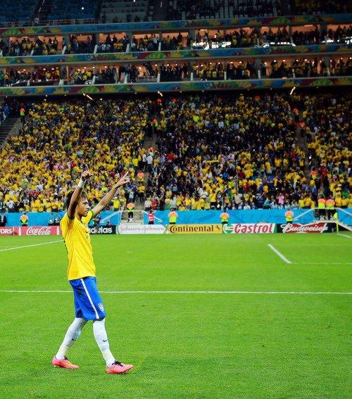 Neymar Jr lors du match d'ouverture face a la Croatie le 12 / 06