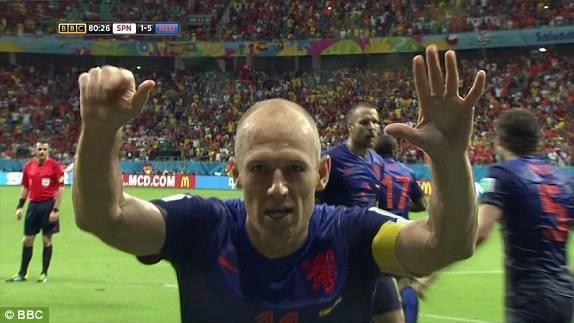 Arjen Robben le 13 - 06