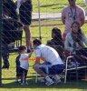 Antonella Roccuzzo, Leo Messi et Thiago Messi le 22 - 06