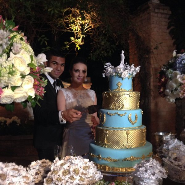 Anna Ortega et Casemiro a leurs mariage le 28 - 06