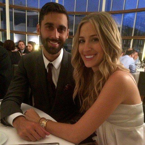 Carlota Ruiz et Alvaro Arbeloa au mariage d'Anna Ortega et Casemiro le 28 - 06