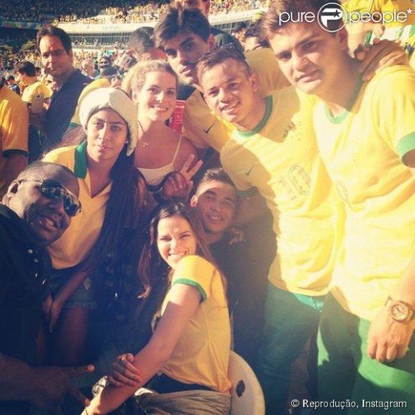 Bruna Marquezine, Neymar et Rafaella Da Silva le 28 - 06