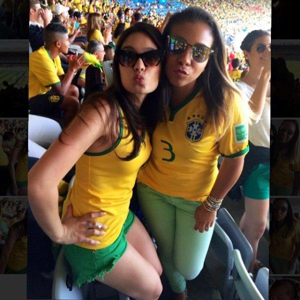Clarice Alves, son frére et Marcelo le 28 - 06