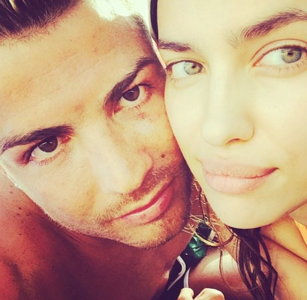 Irina Shayk et Cristiano Ronaldo LE 06 - 07