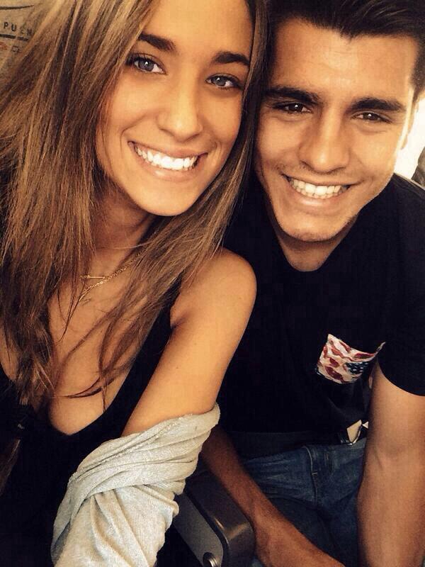 Maria Pombo et Alvaro Morata le 06 - 07