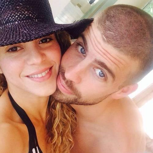 Shakira et Gerard Piqué le 08 - 07