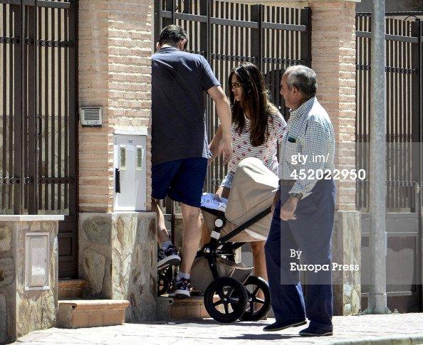 Sara Carbonero, Iker et Martin Casillas le 10 - 07
