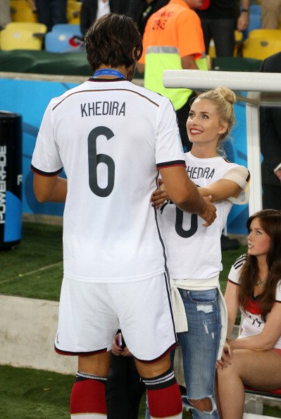 lena Gercke et Sami Khedira le 13 - 07