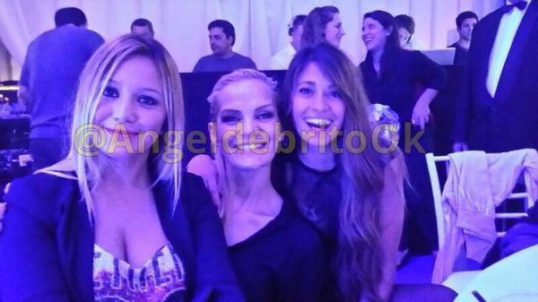 Antonella Roccuzzo et les Wags Argentines le 14 - 07