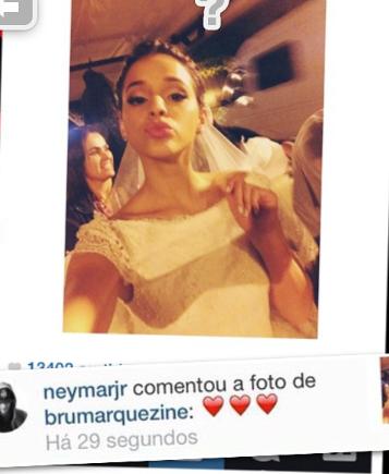 Bruna Marquezine au tournage du dernier épisode de Em Familia