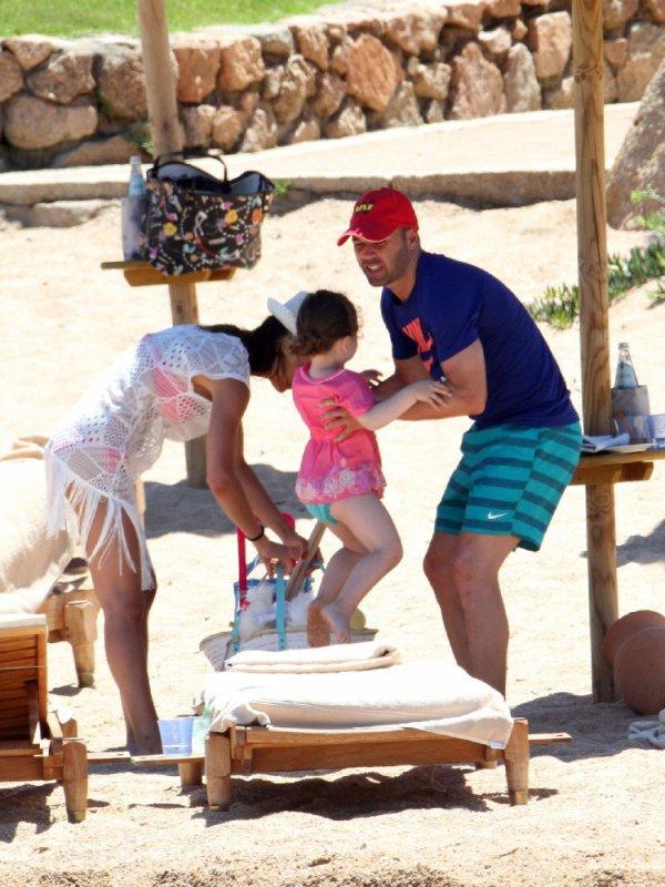 Anna Ortiz, Andres Iniesta et Valeria le 17 - 07