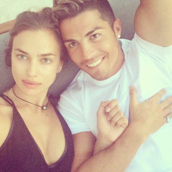 Irina Shayk et Cristiano Ronaldo le 18 - 07
