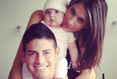 Daniella Ospina, James et Salomé Rodriguez