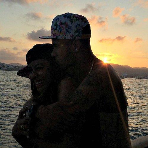Neymar et Rafaella Da Silva a Ibiza le 02 - 08