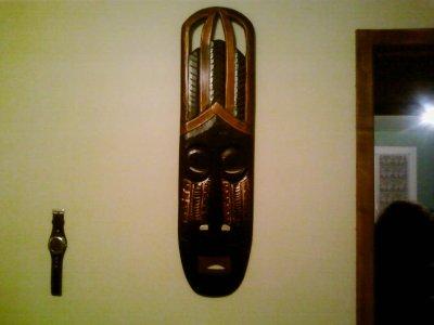 mon masque africain