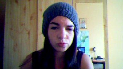 Avec mon ptit bonnet ^^
