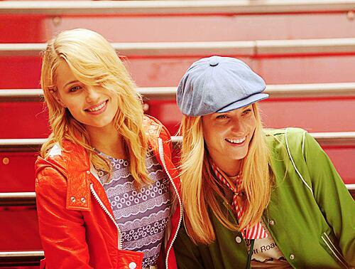 Dianna and Heather