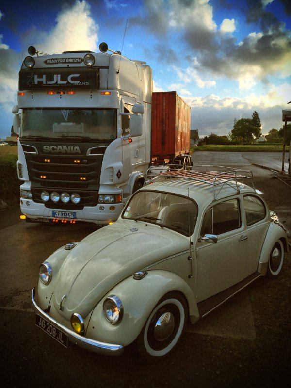 Scania VS VW Cox