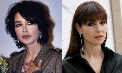 Duel de stars : Monica Bellucci VS Isabelle Adjani