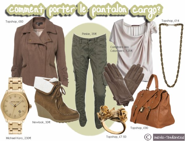 __Inside-Tendances ♥ ___+ Comment porter le pantalon cargo?