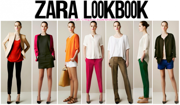 Zara Look Book Women, from March 2011