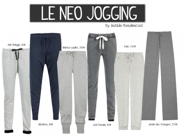 Néo jogging is hype !