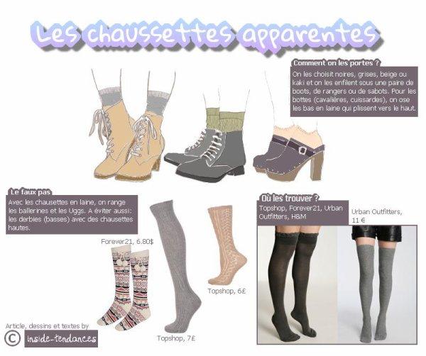 __Inside-Tendances ♥ ___+ Les chausettes apparentes