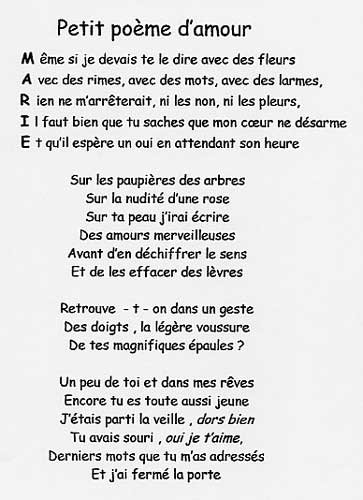 Petit Poeme Damour Hihihihi Lol Pardon Blog De Xx Elo