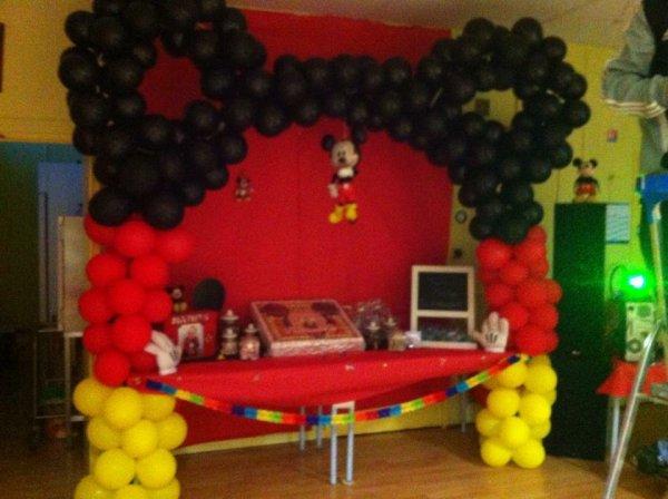 Le 07 03 2015 moi et ma colonie - Decoration mickey pour bapteme ...